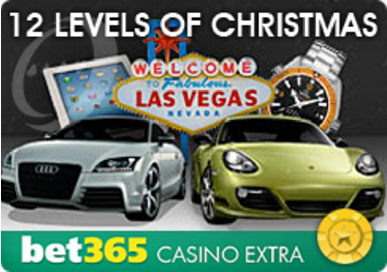 Bet365 Casino Presents 12 Levels of Christmas Promotion