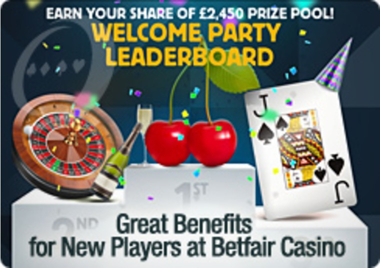 Great Benefits for New Players at Betfair Casino