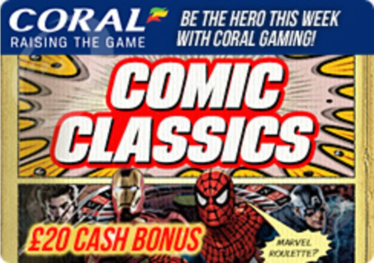 Be the Hero this Week with Coral Gaming