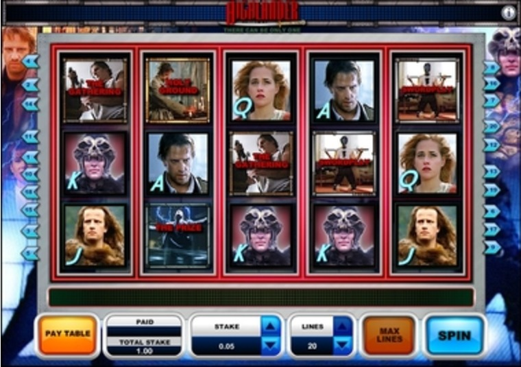Highlander™ Slot Machine Game to Play Free in OpenBets Online Casinos