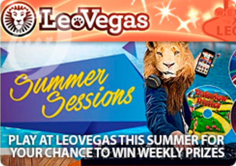 Play at LeoVegas this summer for your chance to win weekly prizes