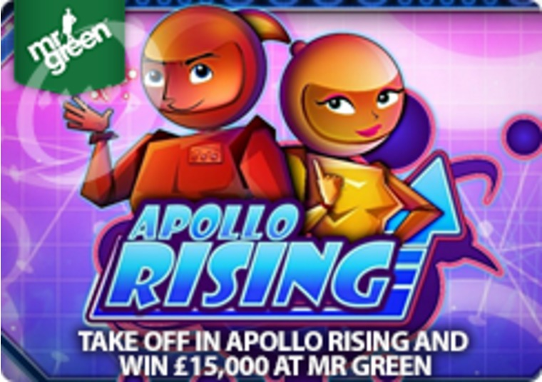 Take off in Apollo Rising and win £15,000 at Mr Green