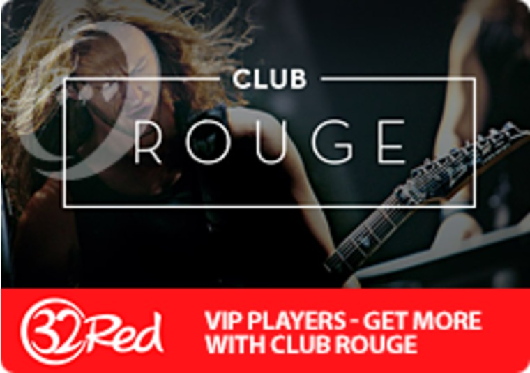 The exclusive Club Rouge from 32Red has everyone talking