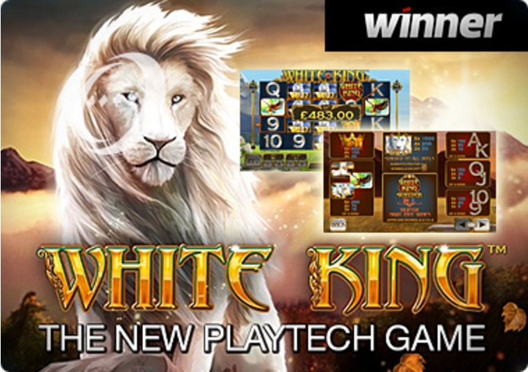 Spin to win on White King at Winner Casino