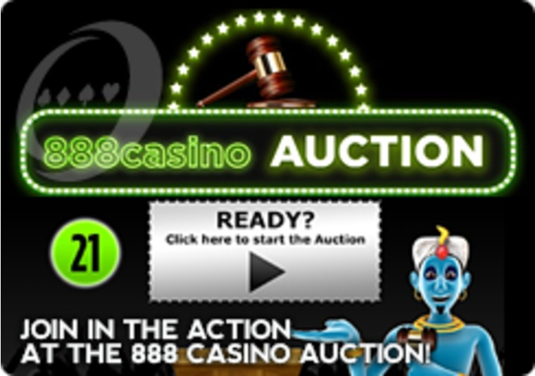 Join in the Action at the 888 Casino Auction