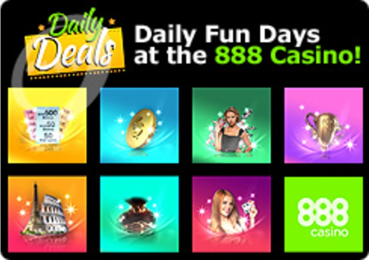 Daily Fun Days at the 888 Casino