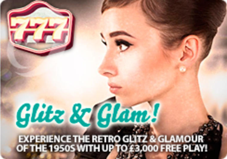 Get up to £3,000 in free play in this retro-themed promotion from 777