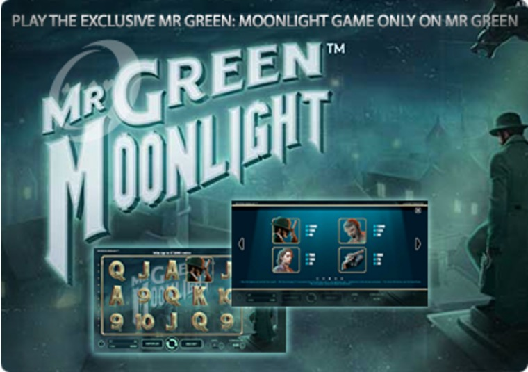 Play the exclusive Mr Green: Moonlight game only on Mr Green