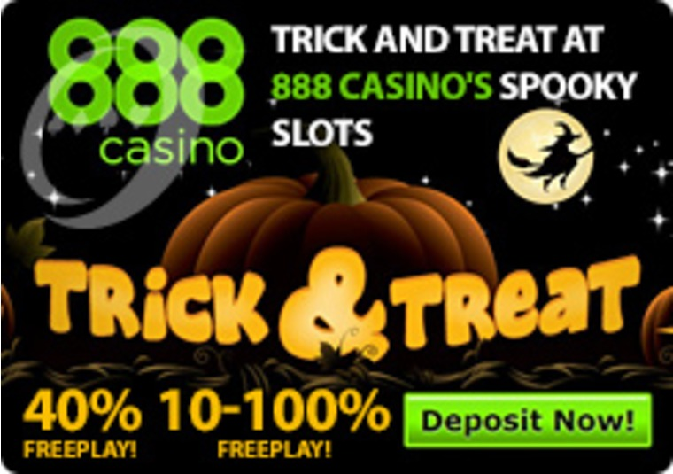 Trick and Treat at 888 Casino's Spooky Slots