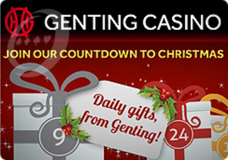 Visit the Genting Casino's Advent Calendar and Unwrap a Gift