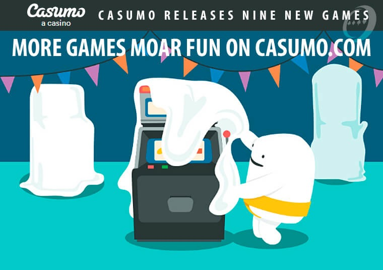 Casumo releases nine new games