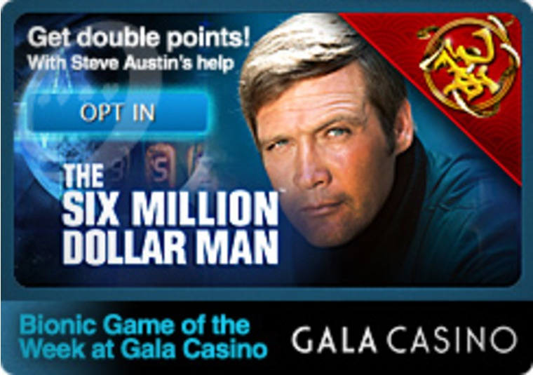 Bionic Game of the Week at Gala Casino