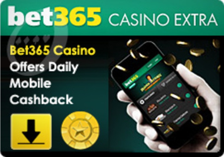 Bet365 Casino Offers Daily Mobile Cashback