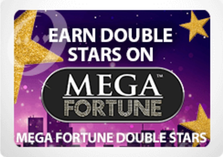 Earn double reward points playing Mega Fortune at bgo