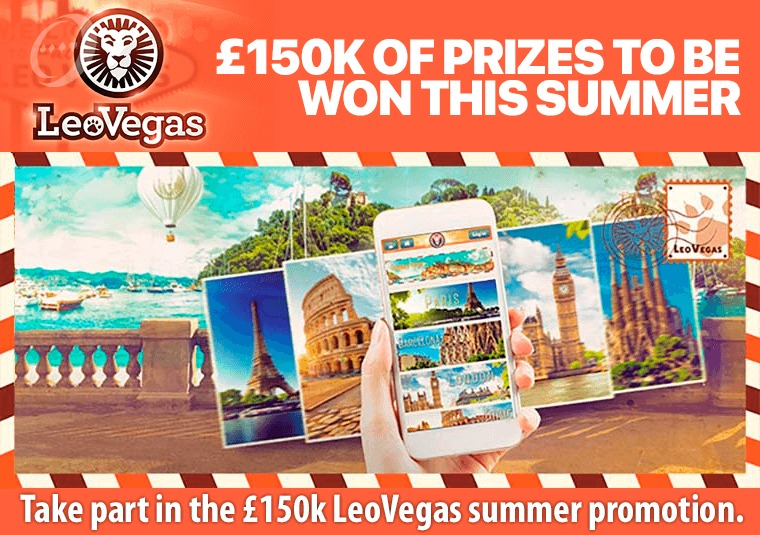 Take part in the £150k LeoVegas summer promotion
