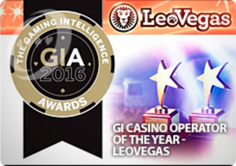 LeoVegas scoops multiple awards, including Casino Operator of the Year