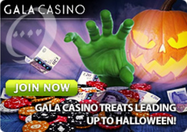 Gala Casino Treats Leading Up to Halloween