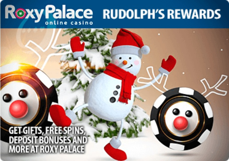 Get gifts, free spins, deposit bonuses and more at Roxy Palace