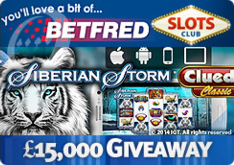 Wild Bonus Windfall £15,000 Giveaway at Betfred Games