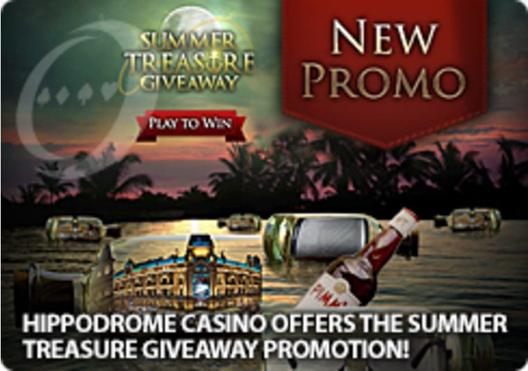 Hippodrome Casino Offers the Summer Treasure Giveaway Promotion