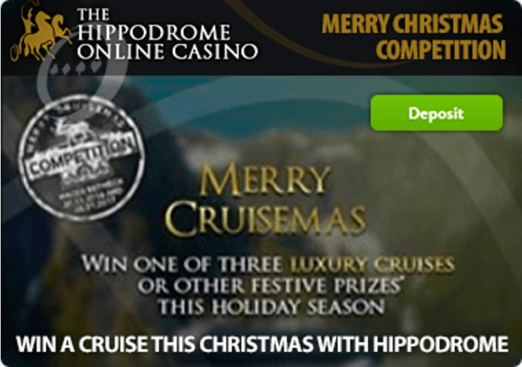Win a cruise this Christmas with Hippodrome