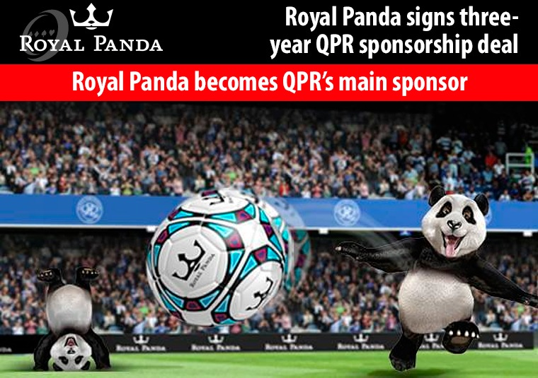 Royal Panda becomes QPR's main sponsor