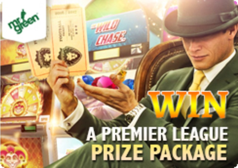 Win a VIP trip to a Premier League football match with Mr Green