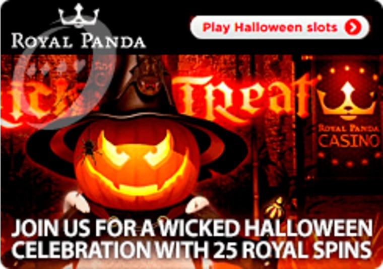 Get free spins on spooky games at Royal Panda this Halloween