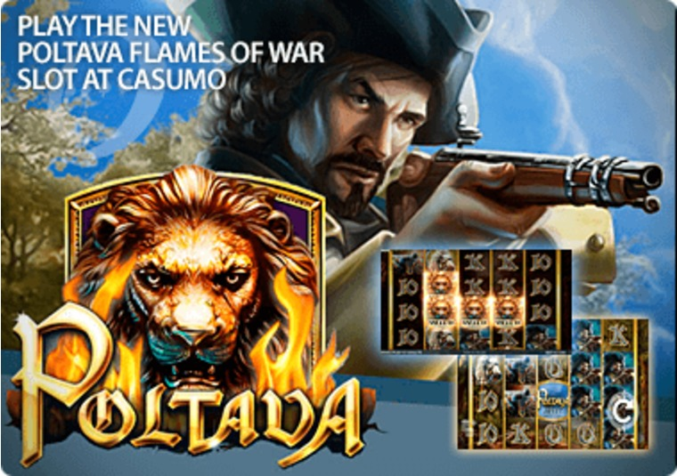 Play the new Poltava Flames of War slot at Casumo