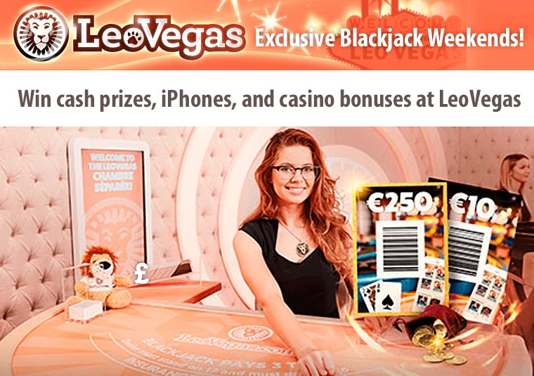 Win cash prizes, iPhones, and casino bonuses at LeoVegas
