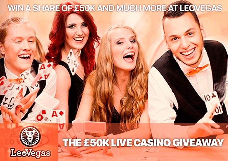 Win a share of £50k and much more at LeoVegas
