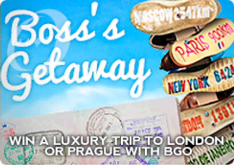 Win a luxury trip to London or Prague with bgo