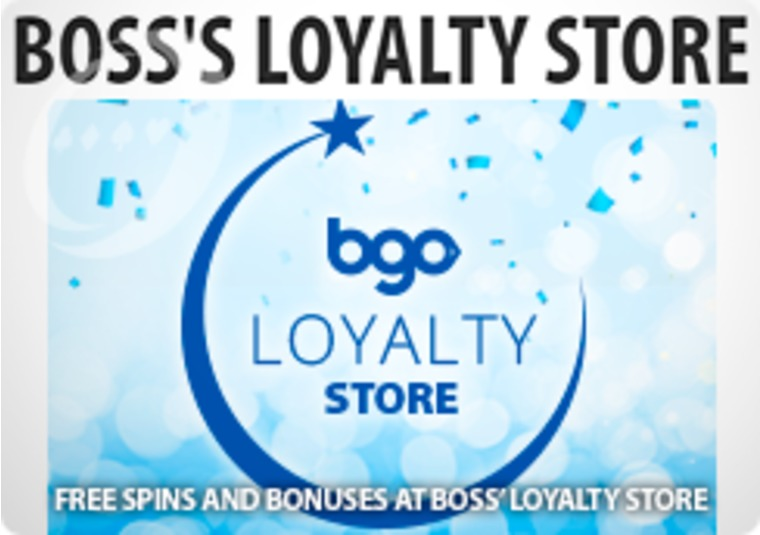The Boss' doors to the Loyalty Store are now open!