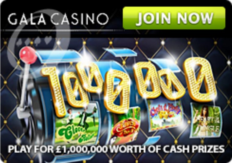 Get your share of £1 million at Gala Casino