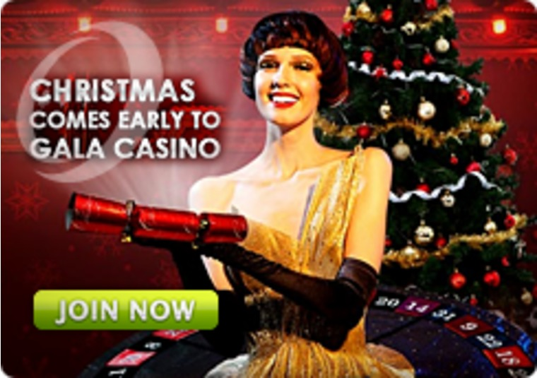 Christmas Comes Early to Gala Casino