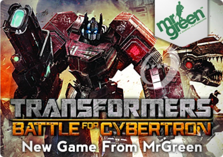 Check out Transformers: Battle for Cybertron at Mr Green