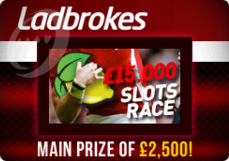 £15,000 Slots Race at Ladbrokes Casino