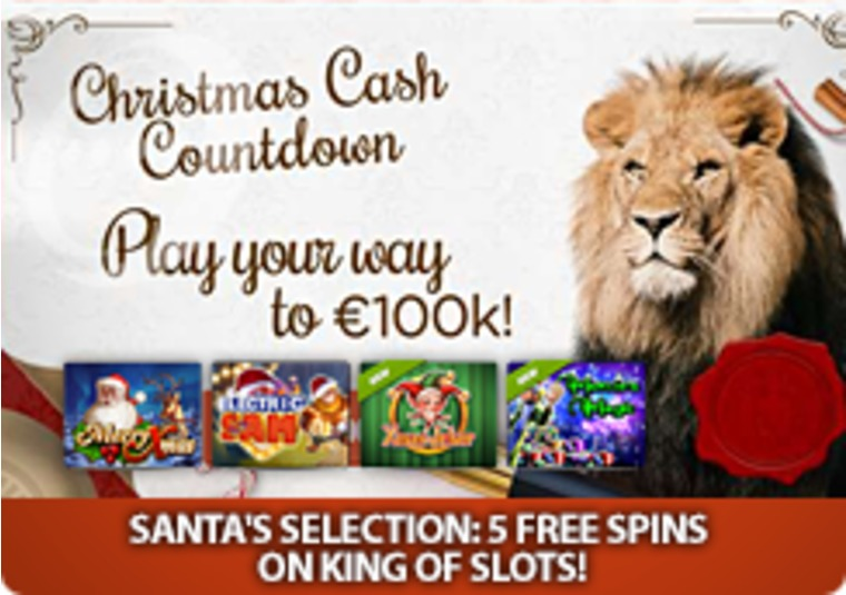 Get free spins in the run up to Christmas at LeoVegas