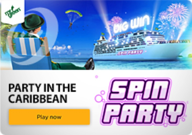 Win a Caribbean Cruise and Apple goodies playing Mr Green's Spin Party