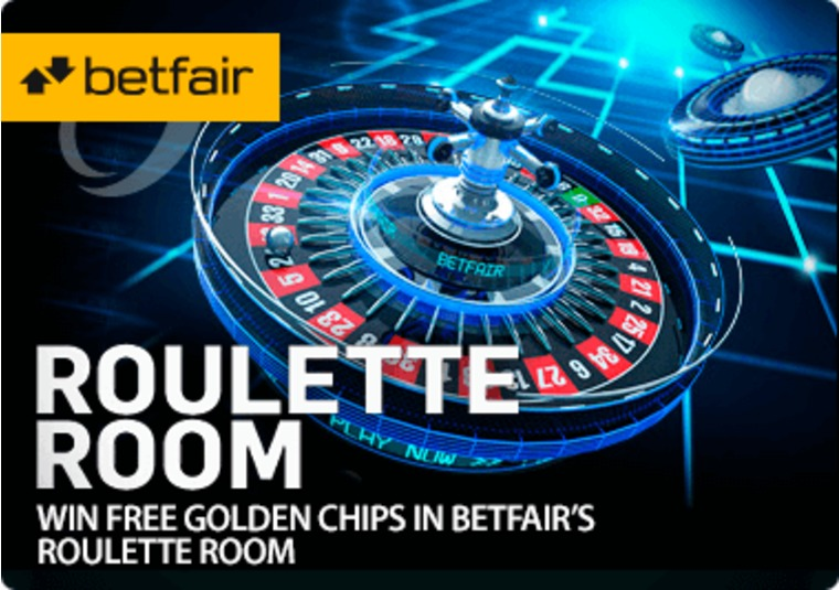 Win free Golden Chips in Betfair's Roulette Room