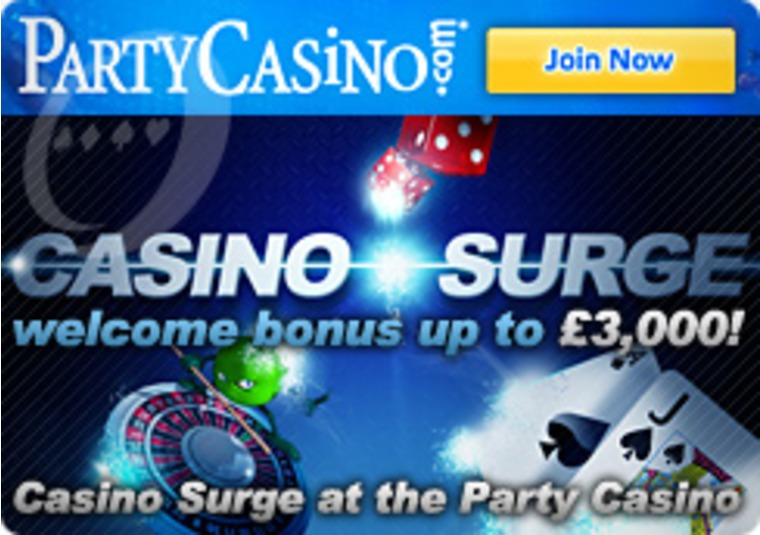 Casino Surge at the Party Casino