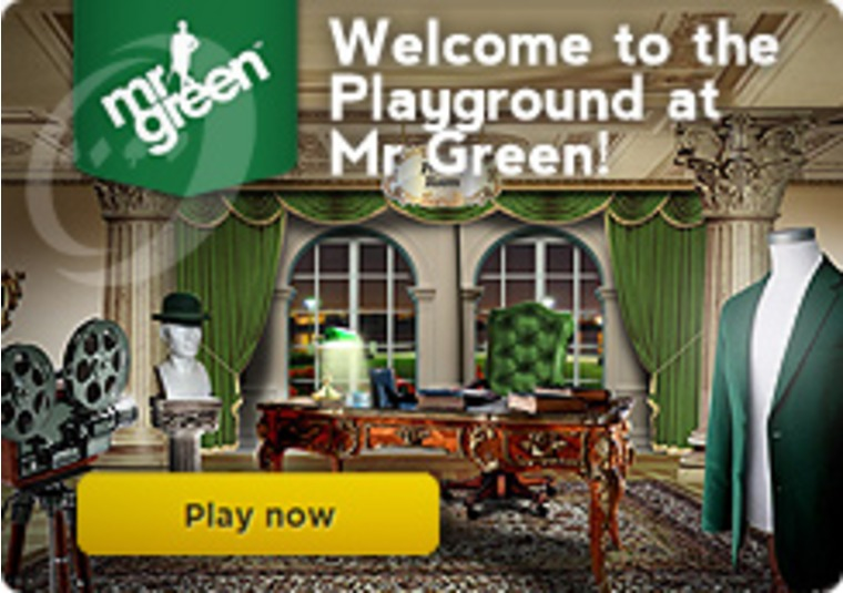Welcome to the Playground at Mr Green