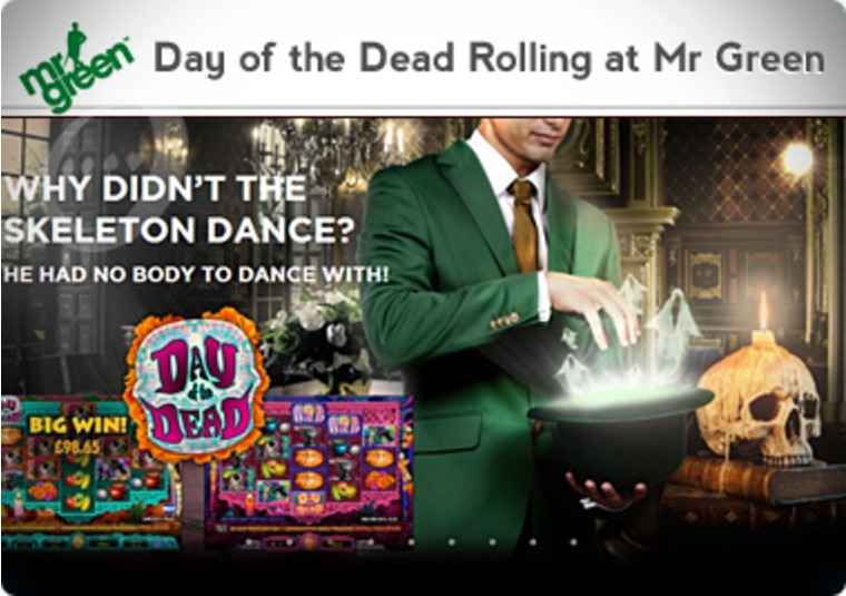 Day of the Dead Rolling at Mr Green
