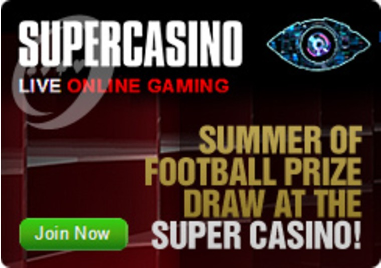 Summer of Football Prize Draw at Super Casino