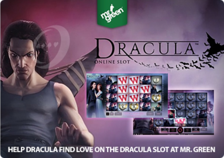 Help Dracula find love on the Dracula slot at Mr Green