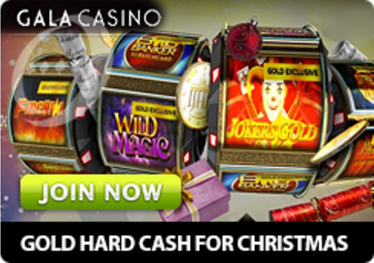 Get some extra cash for Christmas - Gala Casino is giving away £10k