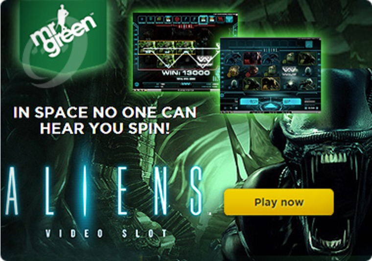 Aliens Video Slot Lands at Mr Green