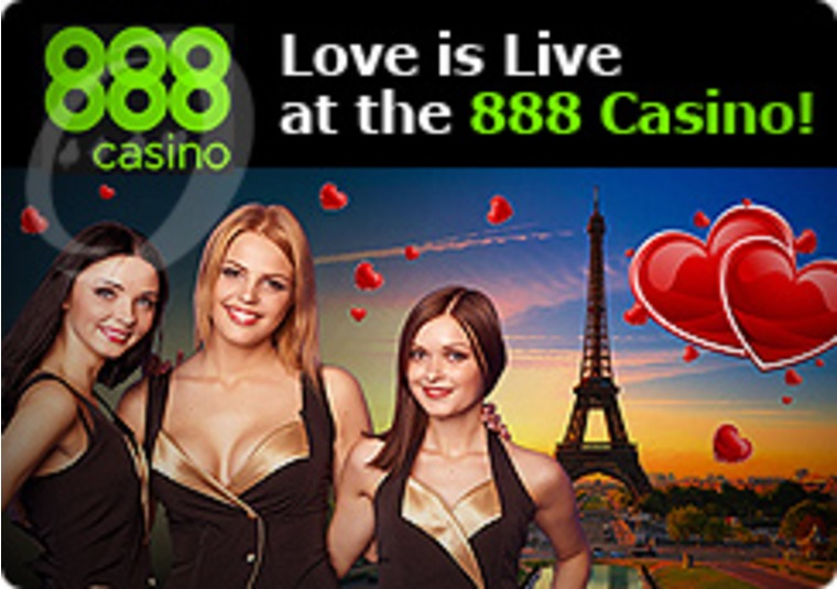 Love is Live at the 888 Casino