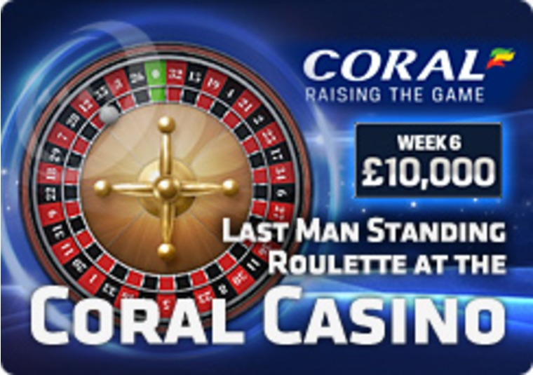 Last Man Standing Roulette at the Coral Casino