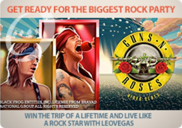 Win the trip of a lifetime and live like a rock star with LeoVegas
